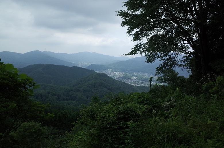 長瀞アルプスから見た景色