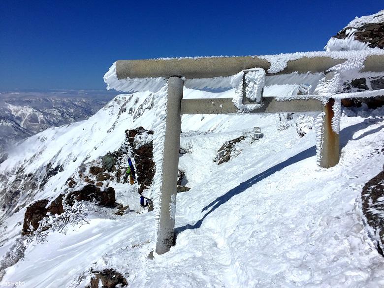 谷川岳 富士浅間神社奥の院