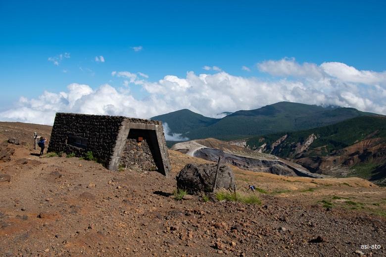 蔵王 熊野岳避難小屋