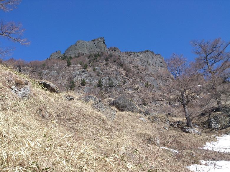 浅間山 かもしか平