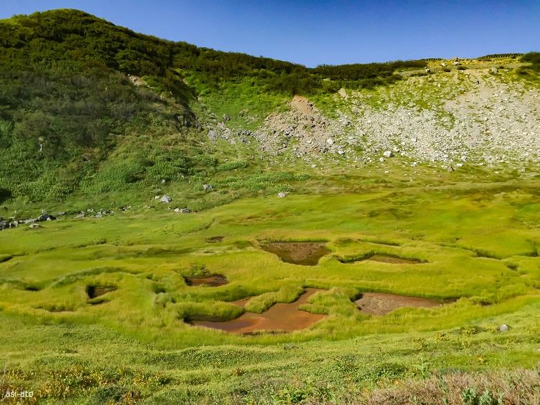 立山 血の池