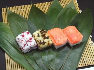 信州サーモン若笹寿司