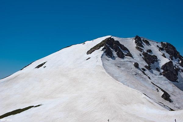 北アルプス 旭岳