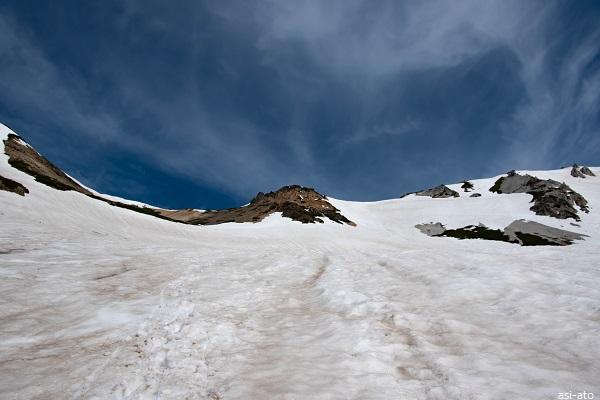 白馬鑓温泉 登山ルート